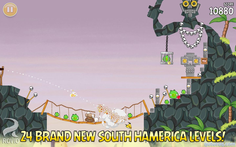 Скриншот в Angry Birds Seasons