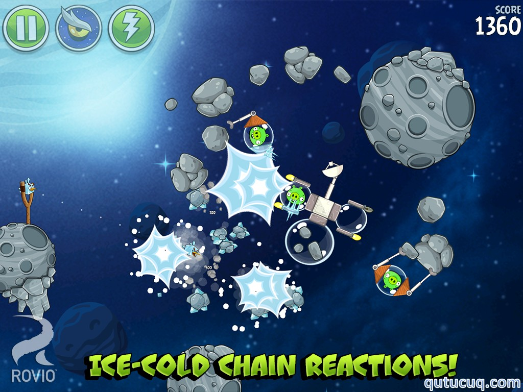 Angry Birds Space ekran görüntüsü