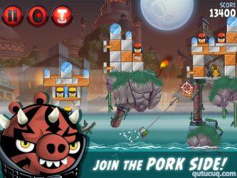 Angry Birds Star Wars II ekran görüntüsü