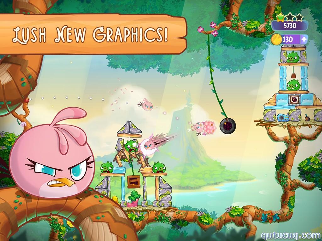 Angry Birds Stella ekran görüntüsü
