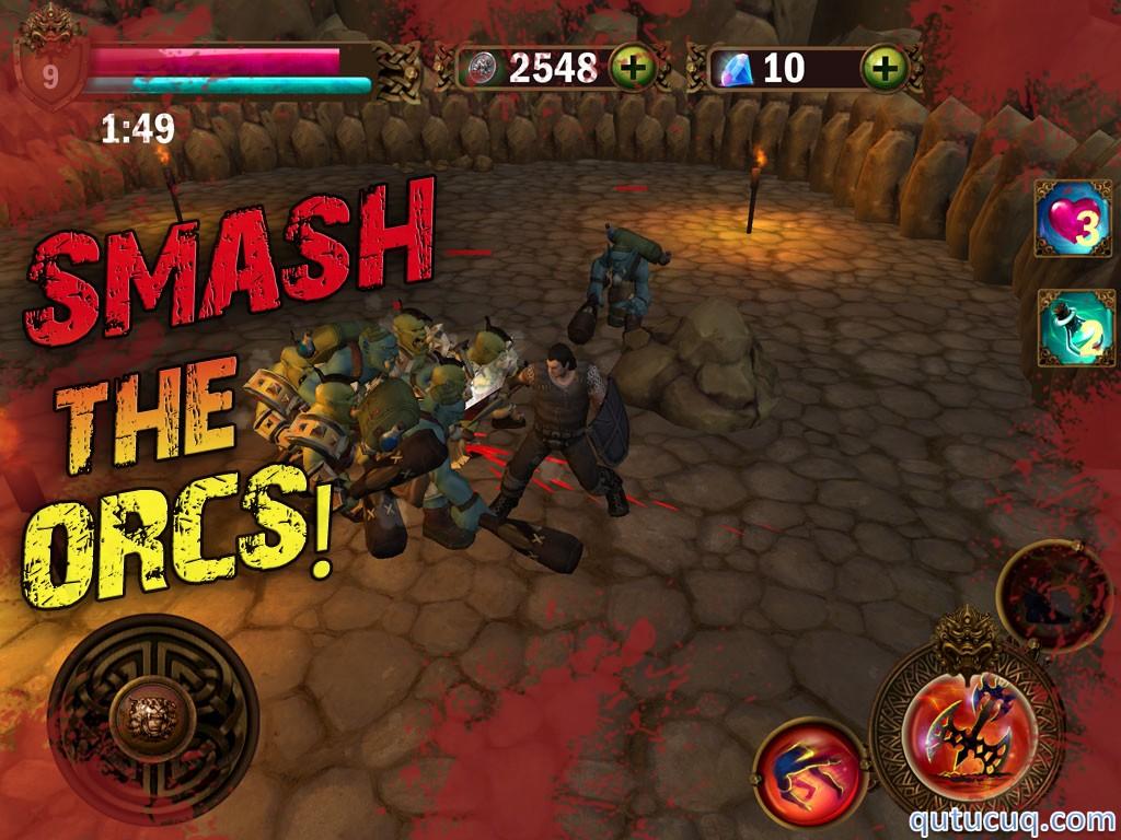 Angry Warrior Eternity Slasher ekran görüntüsü