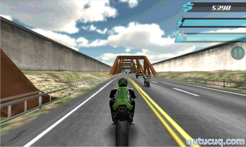 Скриншот в Asphalt Bikers