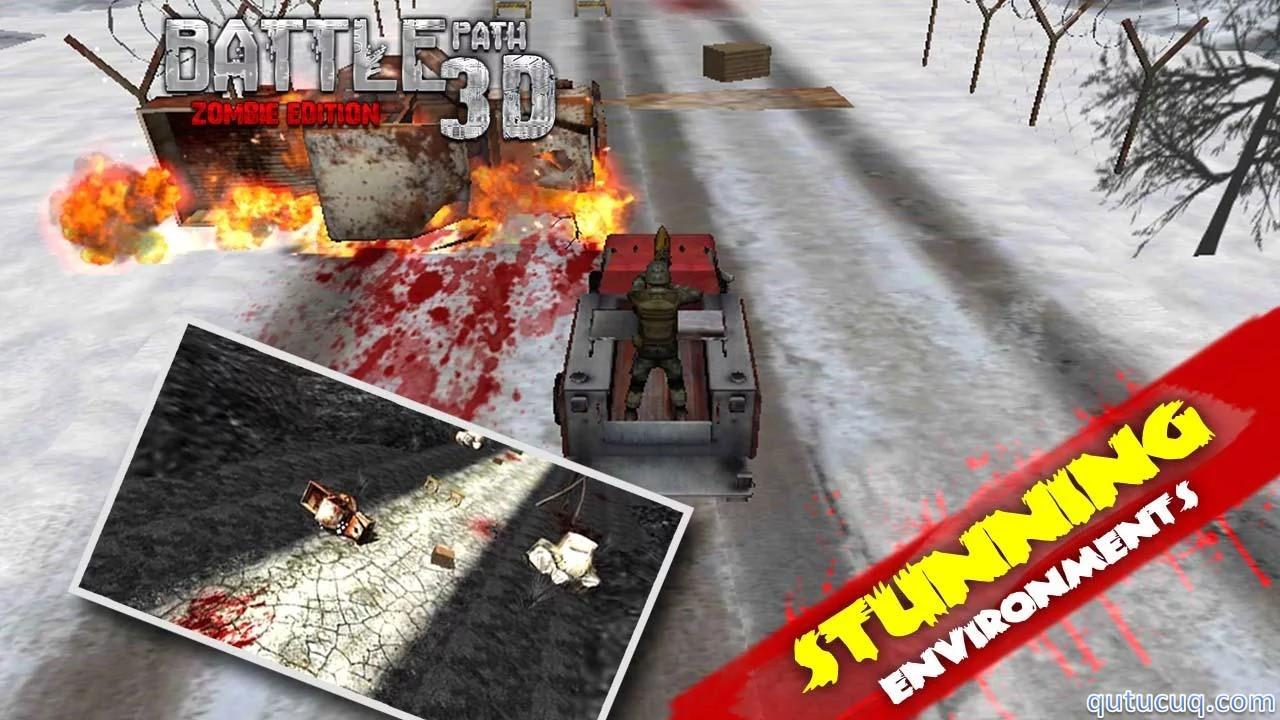 Battle Path 3D – Zombie ekran görüntüsü