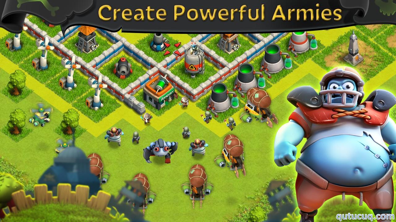 Battle of Zombies: Clans MMO ekran görüntüsü