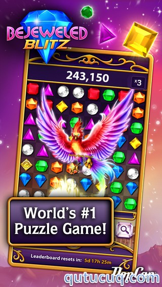 Скриншот в Bejeweled Blitz