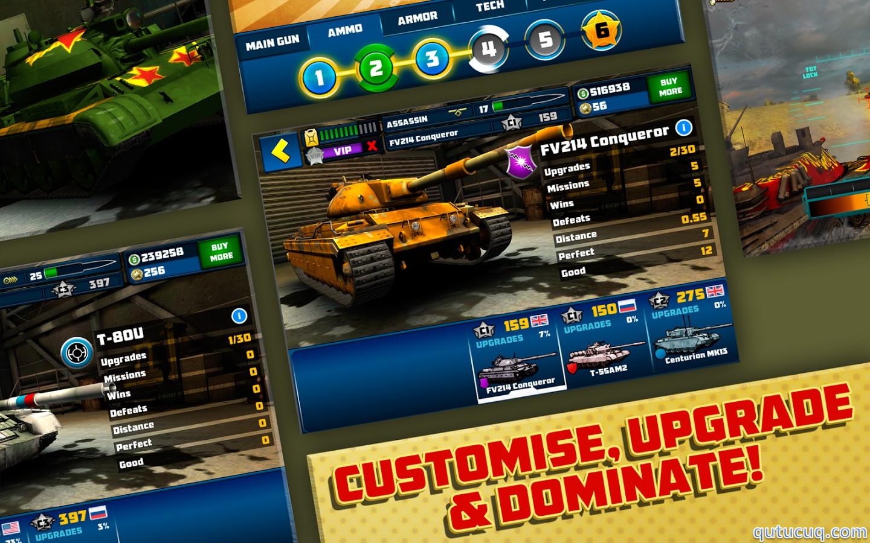 Boom! Tanks ekran görüntüsü