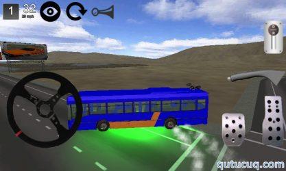 Bus Simulator 3D ekran görüntüsü