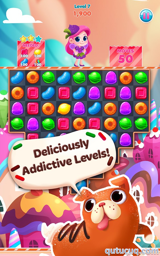 Candy Blast Mania ekran görüntüsü