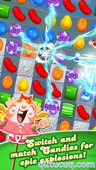Скриншот в Candy Crush Saga