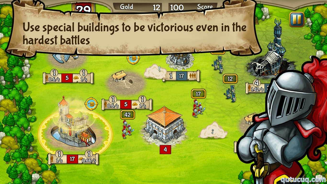 Скриншот в Clash of Castles