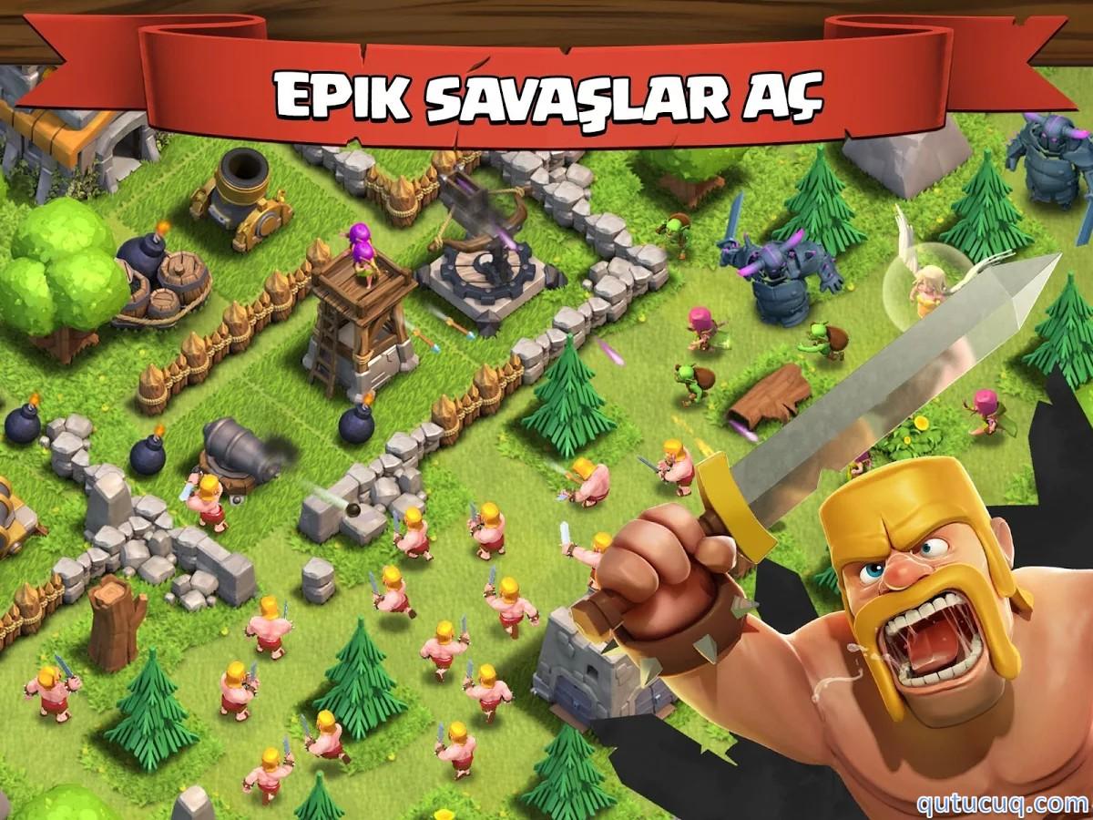 Clash of Clans ekran görüntüsü