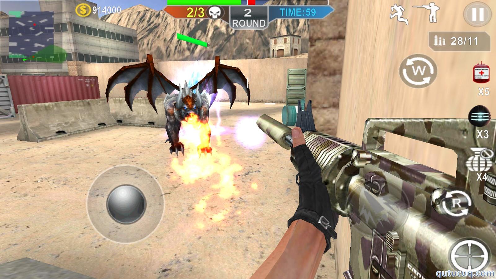Combat Strike: Burning Fronts ekran görüntüsü
