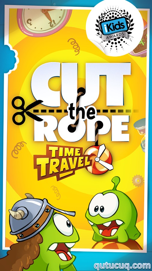 Cut the Rope: Time Travel ekran görüntüsü