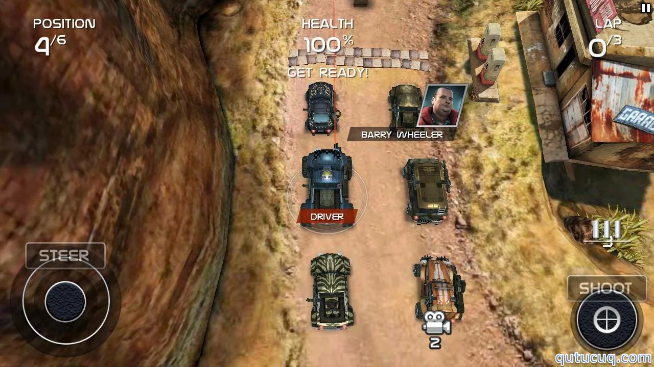 Death Rally ekran görüntüsü