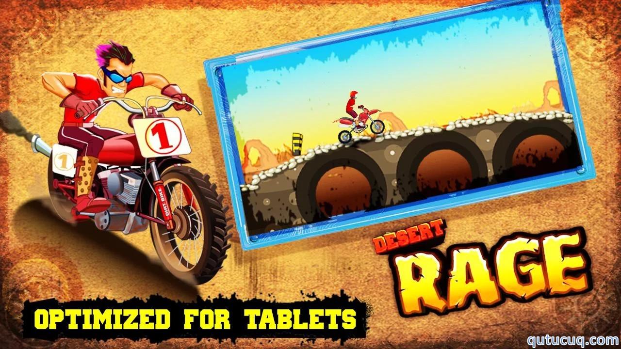Desert Rage – Bike Racing ekran görüntüsü