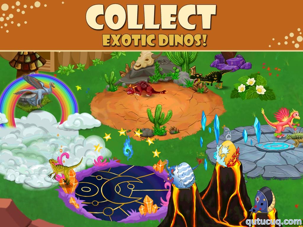 Dino Zoo ekran görüntüsü