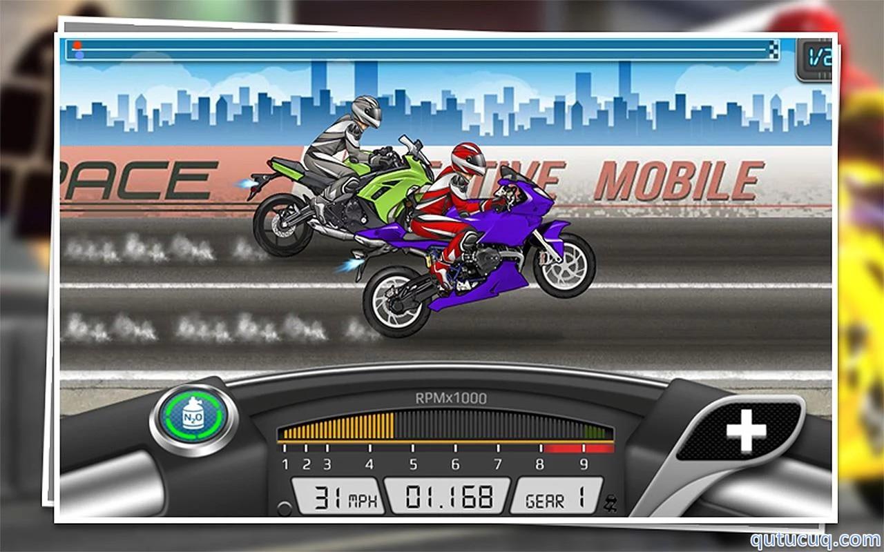 Drag Racing: Bike Edition ekran görüntüsü