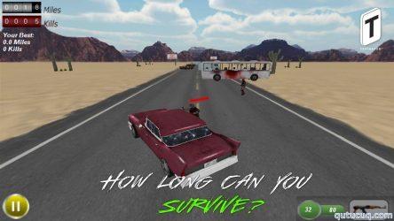 Drive with Zombies 3D ekran görüntüsü