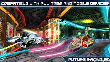 Future Racing 3D ekran görüntüsü