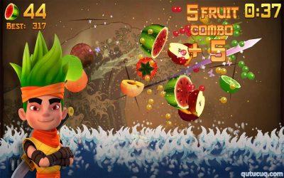Fruit Ninja ekran görüntüsü
