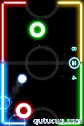 Glow Hockey ekran görüntüsü