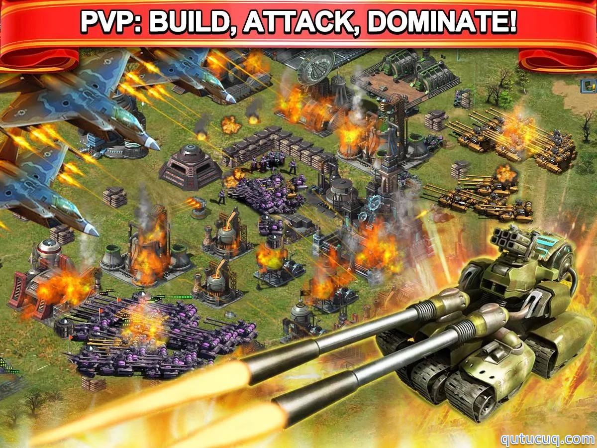 Grand Battle MMO Strategy: War ekran görüntüsü