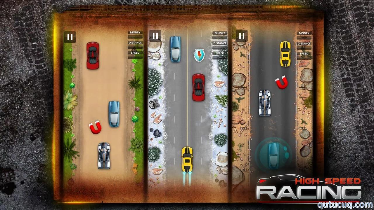 High Speed Racing ekran görüntüsü