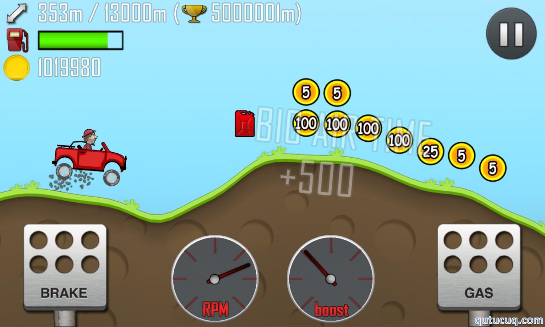 Hill Climb Racing ekran görüntüsü