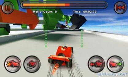 Jet Car Stunts Lite ekran görüntüsü