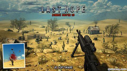 Last Hope – Zombie Sniper 3D ekran görüntüsü