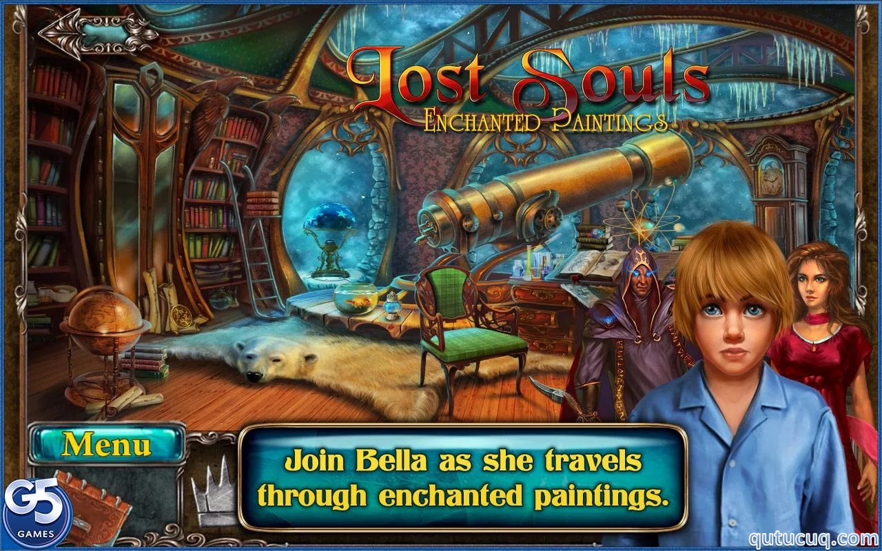 Скриншот в Lost Souls: Enchanted Painting