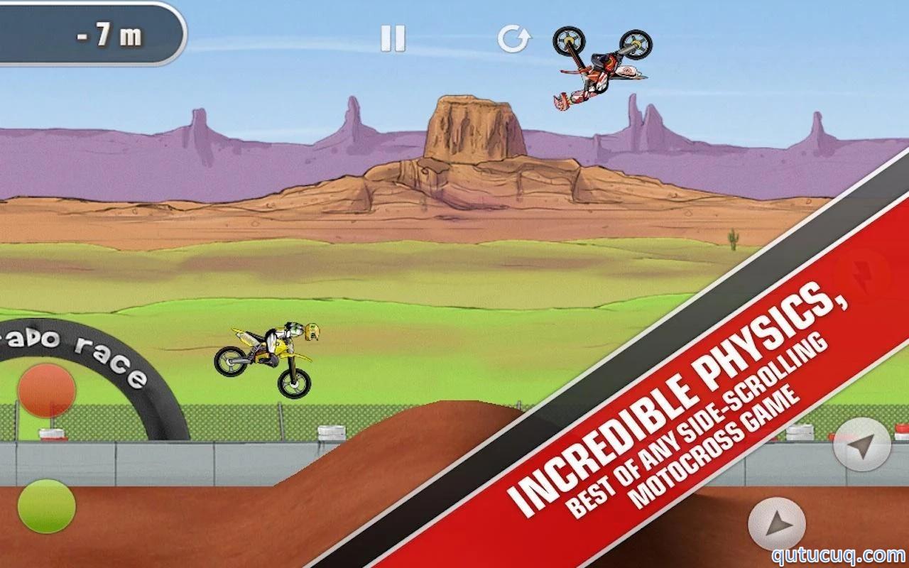 Mad Skills Motocross Yüklə ekran görüntüsü