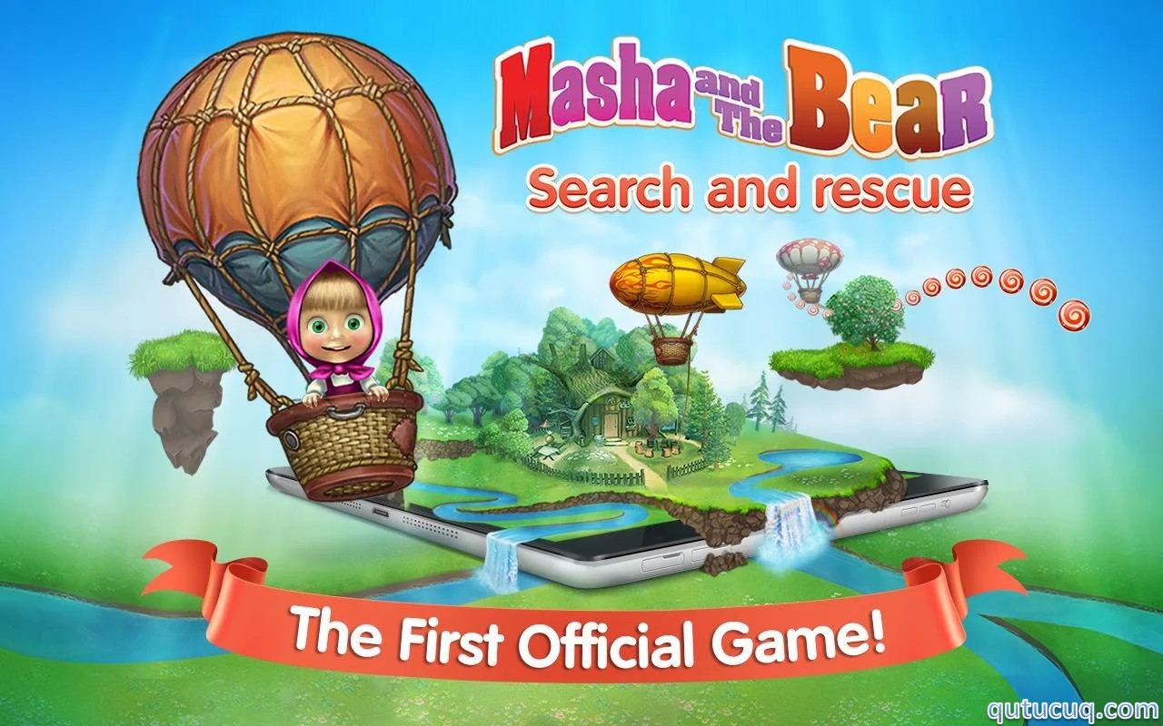 Masha: search and rescue ekran görüntüsü