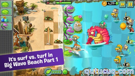 Скриншот в Plants vs. Zombies 2