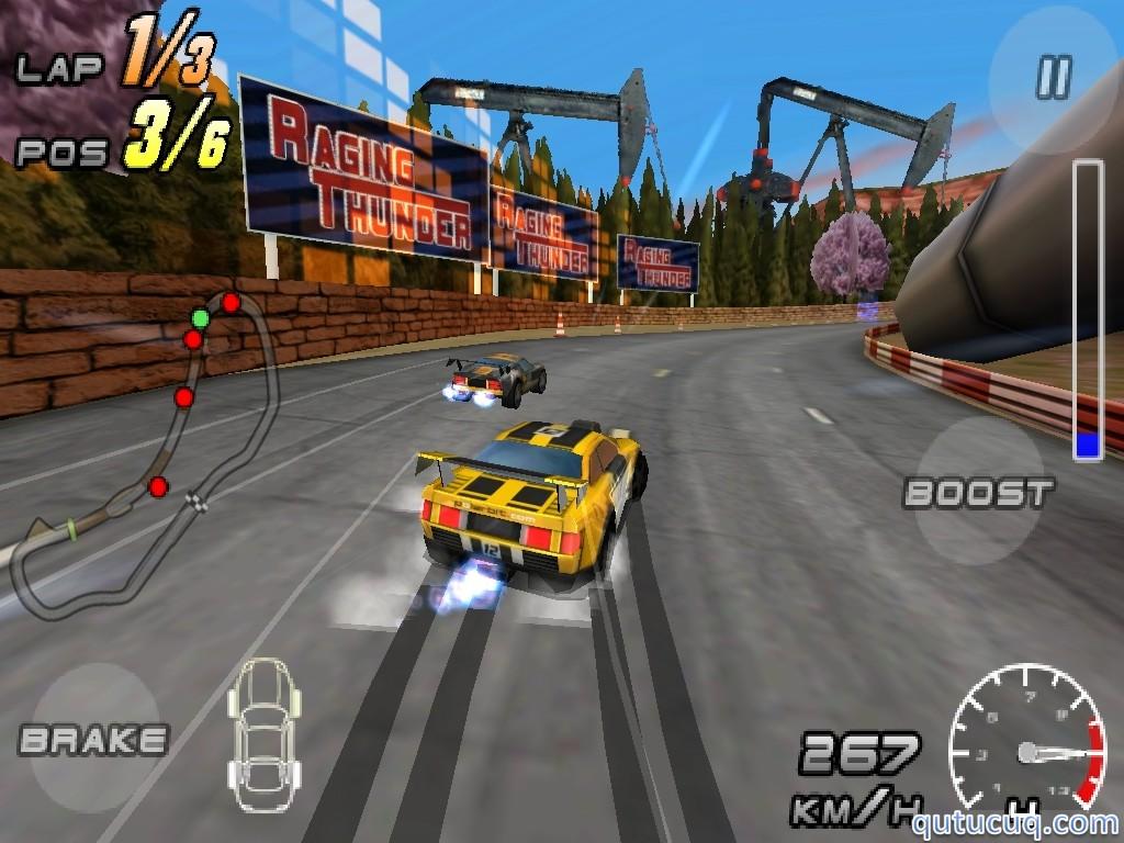 Raging Thunder 2 ekran görüntüsü