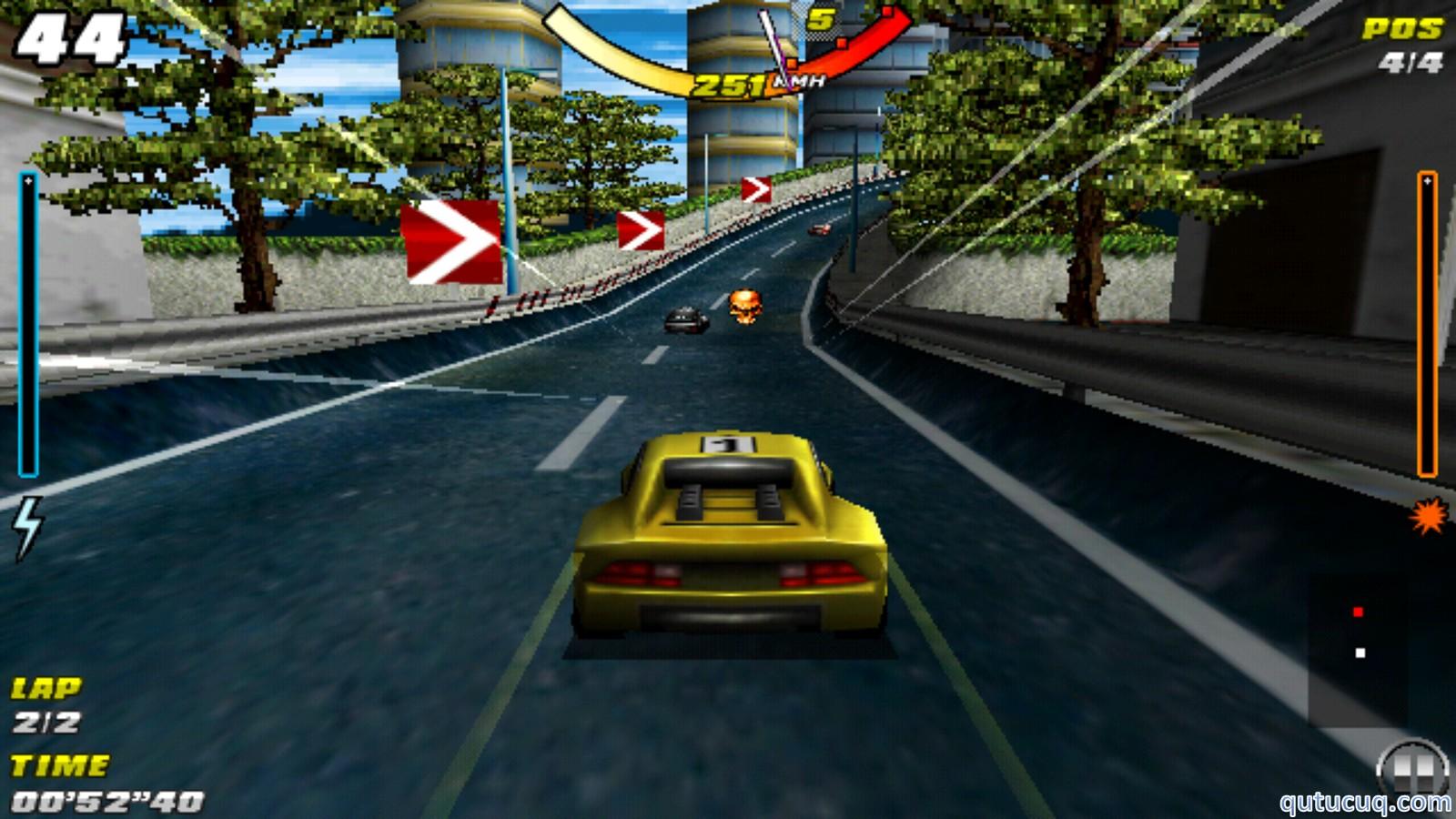 Raging Thunder ekran görüntüsü