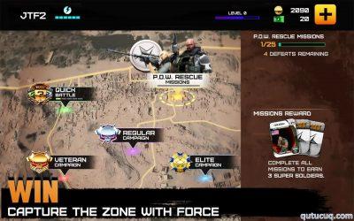 Rivals at War: Firefight ekran görüntüsü
