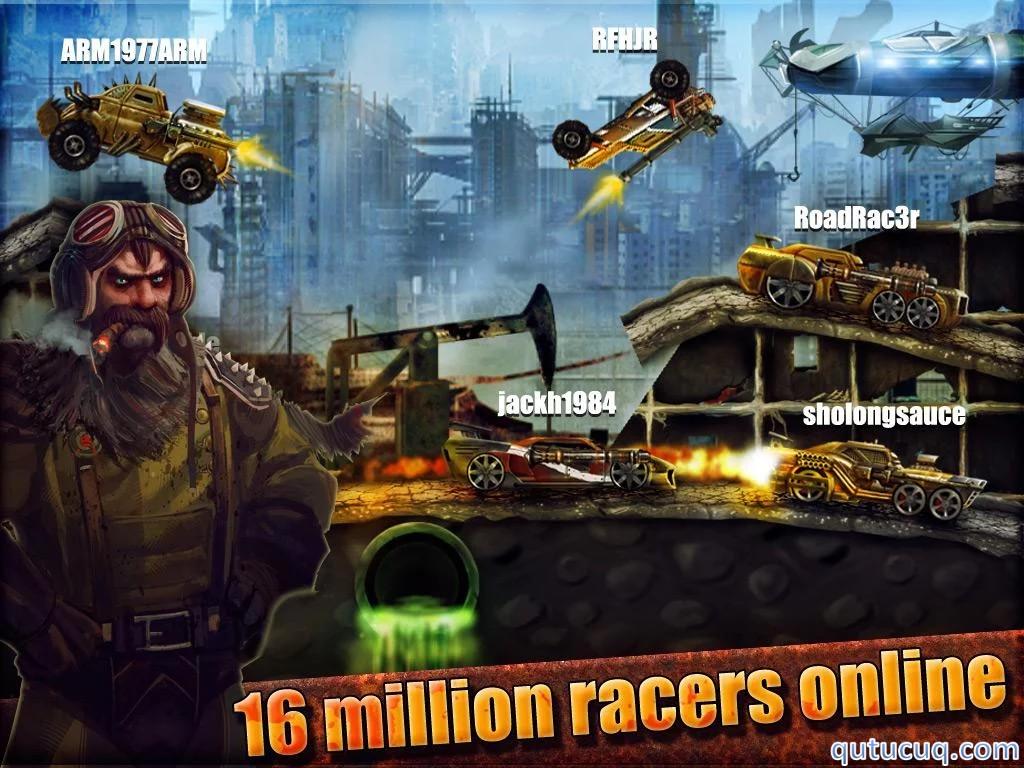 Road Warrior: Best Racing ekran görüntüsü