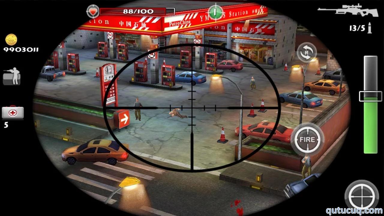 Sniper & Killer 3D ekran görüntüsü