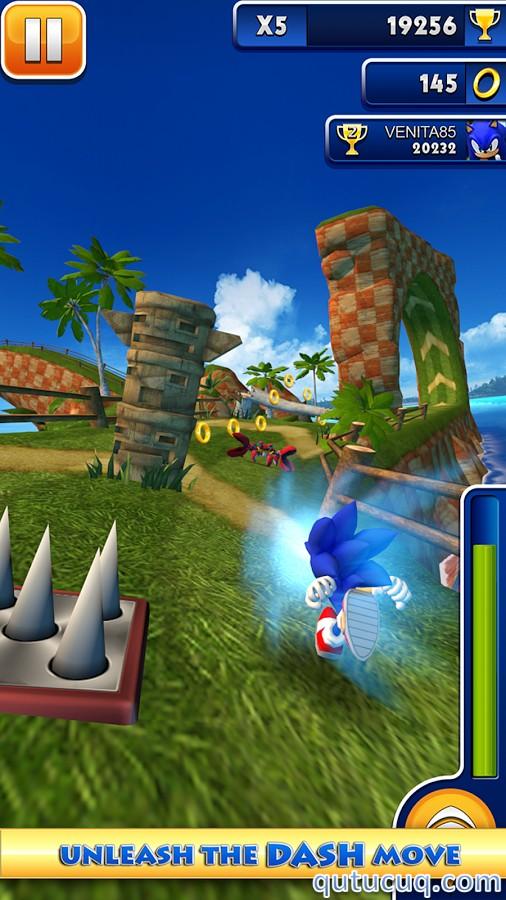 Sonic Dash Yüklə ekran görüntüsü