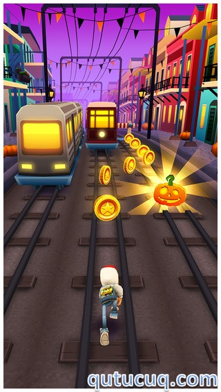 Скриншот в Subway Surfers