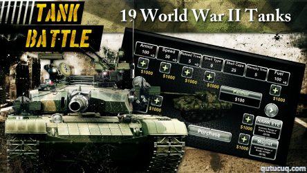 Tank Battle 3D: World War II ekran görüntüsü