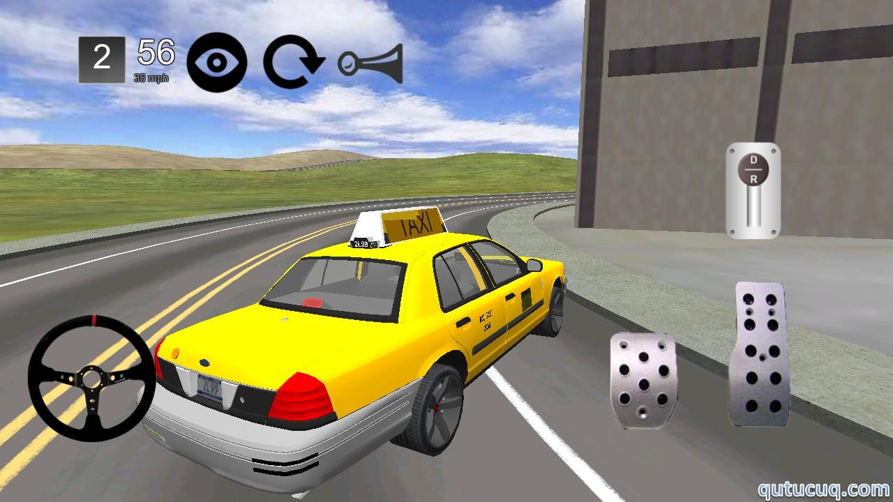 Taxi Simulator 3D ekran görüntüsü