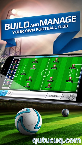 Top Eleven – Be a football manager ekran görüntüsü