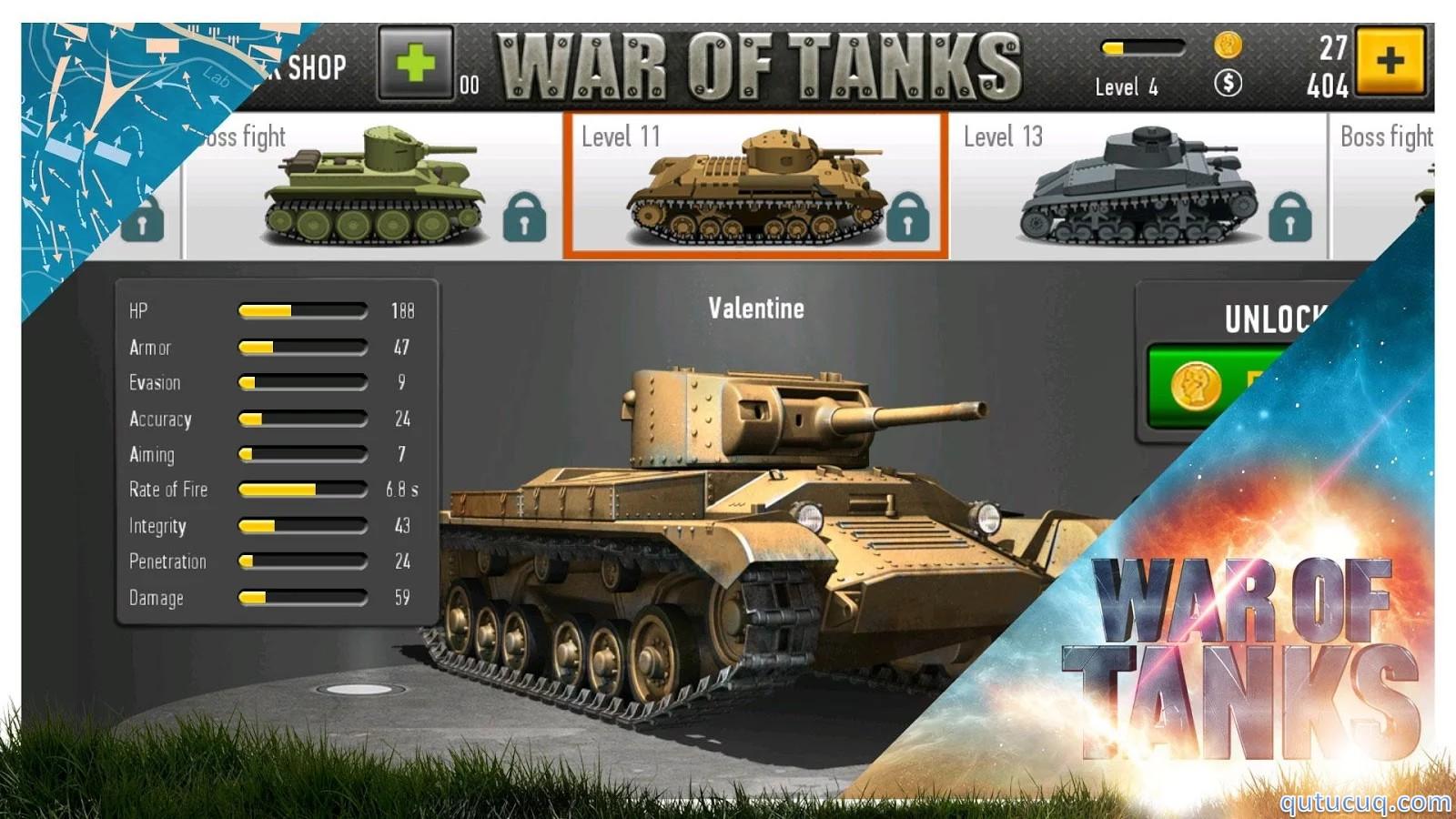War of Tanks ekran görüntüsü