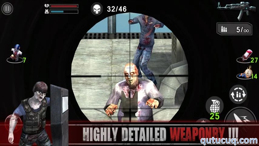 Zombie Assault: Sniper ekran görüntüsü