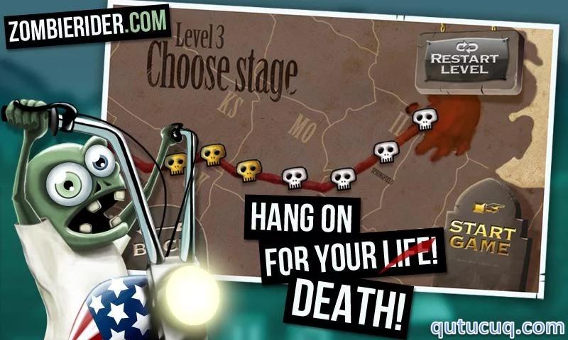 Zombie Rider ekran görüntüsü