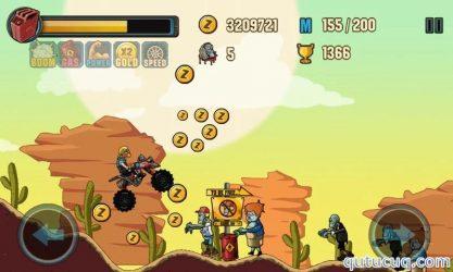 Zombie Road Racing ekran görüntüsü