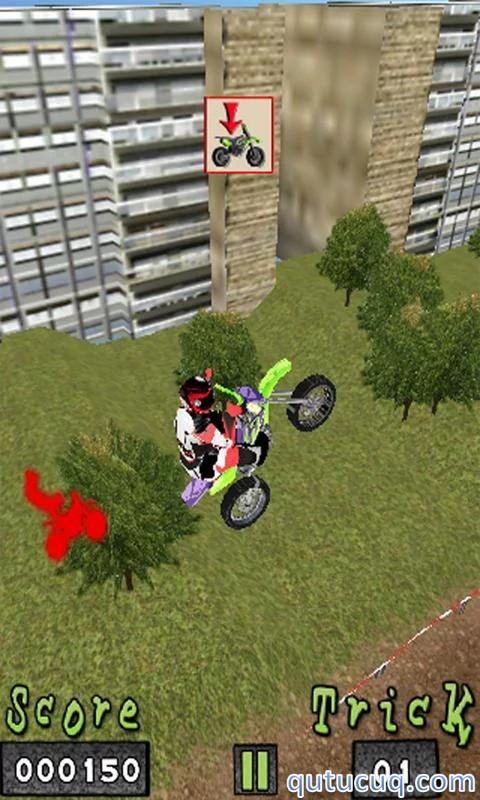 eXtreme MotoCross ekran görüntüsü