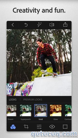 Adobe Photoshop Express ekran görüntüsü
